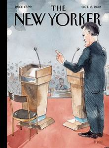 New Yorker Debate Cover Showcases Obama's Poor Performance ...