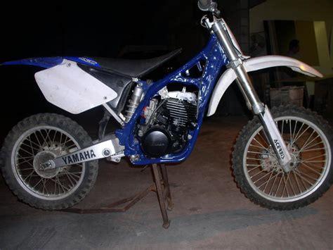 yz 450 2 stroke 06 yz 450 f with a yz 250 2 stroke motor is it possible yamaha 2 stroke thumpertalk