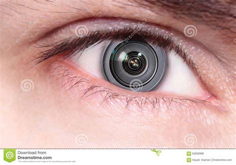 objectif de 233 ra 224 l int 233 rieur de l oeil photo stock image 62658996