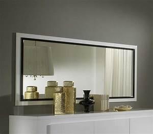 Miroir Deco Salon : miroir rectangulaire salon id es de d coration ~ Melissatoandfro.com Idées de Décoration