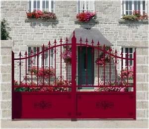 Portail En Fer Lapeyre : comment choisir son portail floriane lemari ~ Premium-room.com Idées de Décoration