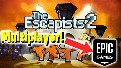 The Escapists 2 Multiplayer Tutorial - Epic Games. - YouTube
