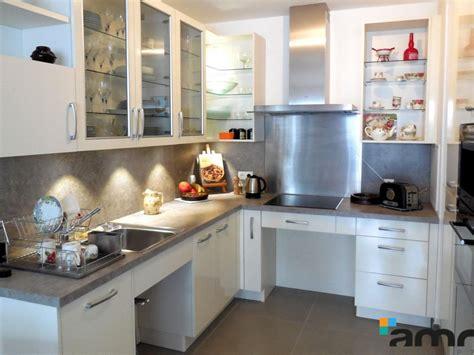 cuisine pmr cuisine fixe sur mesure ergonomique pour personne