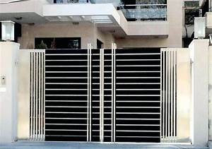 Steel And Wood Gate Designs Main Gate Design In Stainless