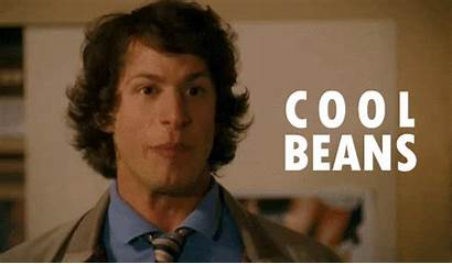Coolbeans Cool Beans Andy Samberg Gifs Chill