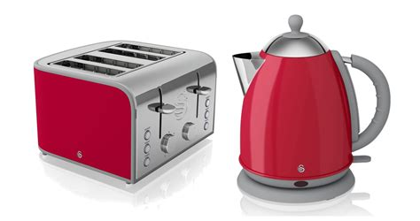 top  beautiful red kettle  toaster sets kettleandtoasterscom kettle  toaster red