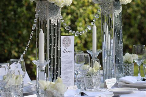 Diamonds In The Garden  Wedding Styling  Modern Wedding