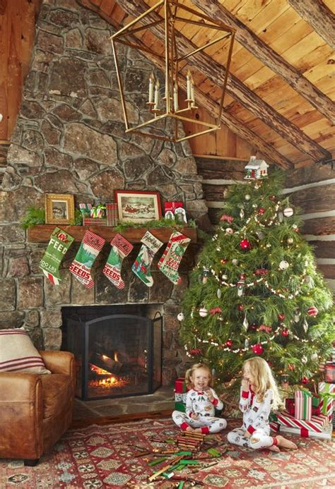 holly williams tennessee cabin christmas decorating ideas