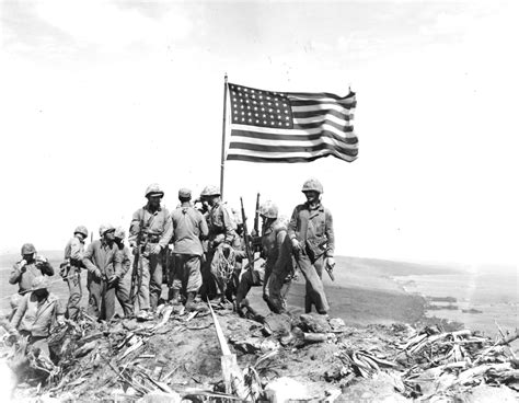 raise the siege 70 years ago marines raise flag on iwo jima