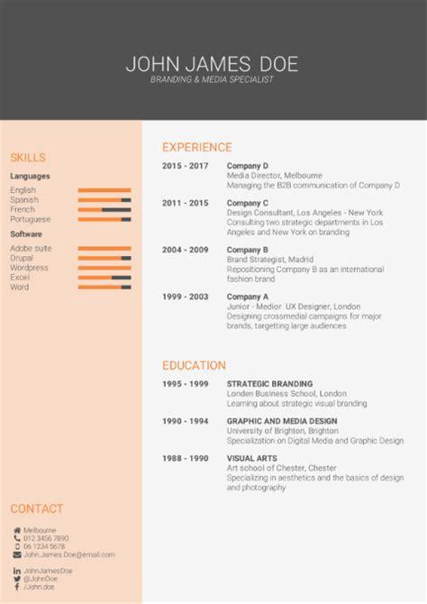 cv template   cv builder  cv templates