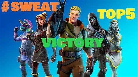 Top 5 Sweaty Fortnite Wins Youtube