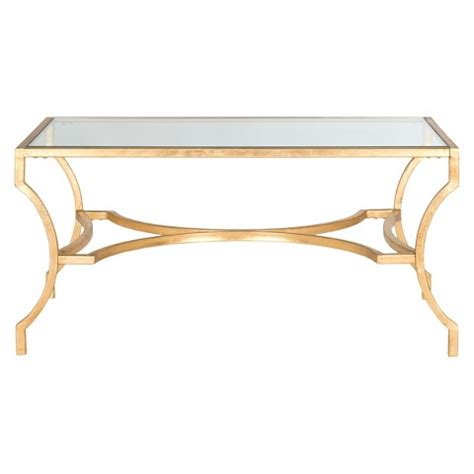 Coffee Tables Ideas: glass antique coffee table gold safeviah inga urban Coffee Table, Safavieh