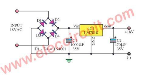 Power Supply Circuit Using Electronics