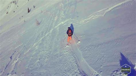 dji mavic pro active track skiing youtube