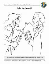 Booth William Torchlighters Coloring Games sketch template