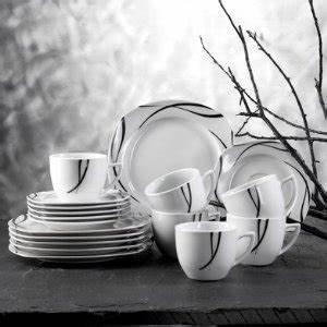 Tafelservice Modernes Design : domestic by m ser serie chanson kombiservice 30 teilig mit je 6 tassen untertassen ~ Sanjose-hotels-ca.com Haus und Dekorationen