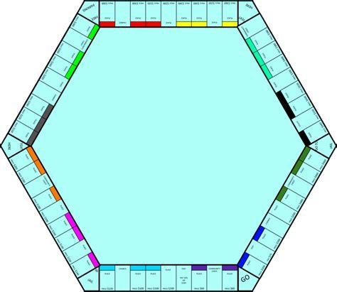 board template 6sided monopoly board template by marxon13 by larry03052 on deviantart