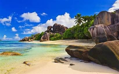 Desktop Beach Tropical Wallpapers Widescreen Beaches Cool
