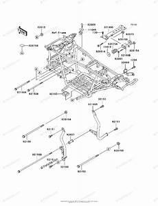 Kawasaki Atv 1999 Oem Parts Diagram For Engine Mount