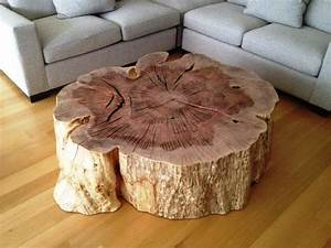 tree stump coffee table natural unique design tree stump With log stump coffee table