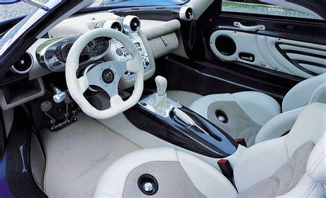 pagani zonda interior car and driver