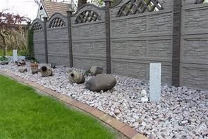 Zaun Aus Beton : die h rte z une aus beton myhammer magazin ~ A.2002-acura-tl-radio.info Haus und Dekorationen