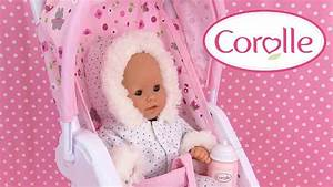 Bébé Corolle Youtube : corolle mon premier poussette poupon baby doll stroller v tements accessoires youtube ~ Medecine-chirurgie-esthetiques.com Avis de Voitures