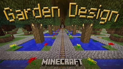 minecraft     cool garden design youtube