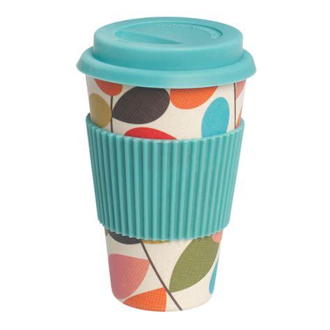 Vintage Ivy Bamboo Travel Coffee Cup   dotcomgiftshop