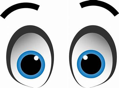 Eyes Transparent Cartoon Animated Clipart Expression Anime