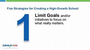 Five Strategies for Creating a High-Growth School