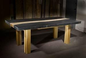 Beton tisch eine originelle einrichtungsidee for Tisch beton