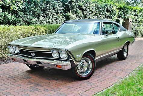 Chevrolet Ss For Sale by 1968 Chevrolet Chevelle Ss For Sale