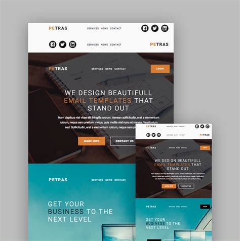 caign email to template mailchimp 19 best mailchimp responsive email templates for 2018