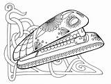 Stapler Coloring Pages Wenchkin Colouring Flats Therapy Clip Printable Sugar Yuccaflatsnm Yucca sketch template