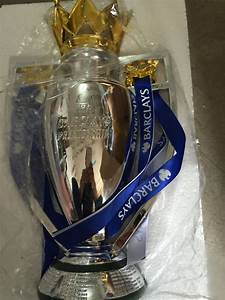 2017 Uk Premiership Champions Cup  Soccer Award  Cup Soccer Football Replica Trophy Cup 44cm