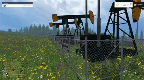 placeable oil derrick v 1 0 farming simulator 2017 mods