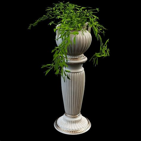 decorative vase garden planter  model ds max files