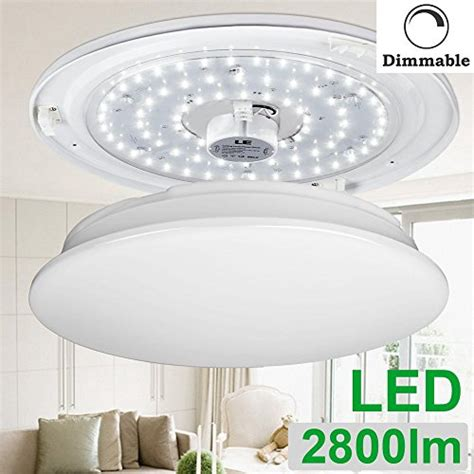 le 40w dimmable daylight white 19 3 inch led ceiling