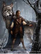 Arya Stark and Nymeria by monsterling on DeviantArt  Direwolf Game Of Thrones Nymeria