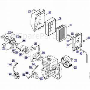 Stihl Br 420 C Backpack Blower  Br 420 C  Parts Diagram