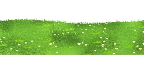 Patch With Grass Transparent Clipart