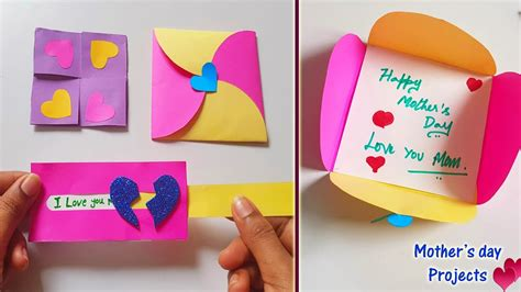 mini projects  mothers day easy simple paper