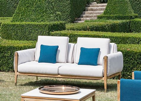 Furniture : Smania Amalfi Garden Sofa