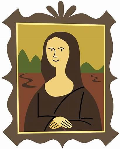 Mona Lisa Svg Clipart Del Portraits Stylized