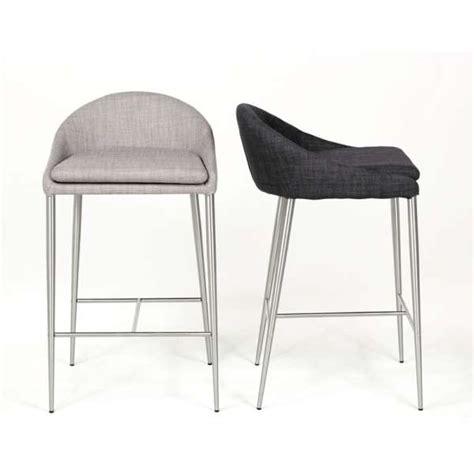 chaise de cuisine hauteur 65 cm tabouret snack contemporain hauteur 65 cm davon 4