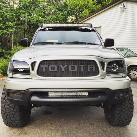 tacoma led light bar 42 quot curved light bar w relentless fab brackets tacoma world