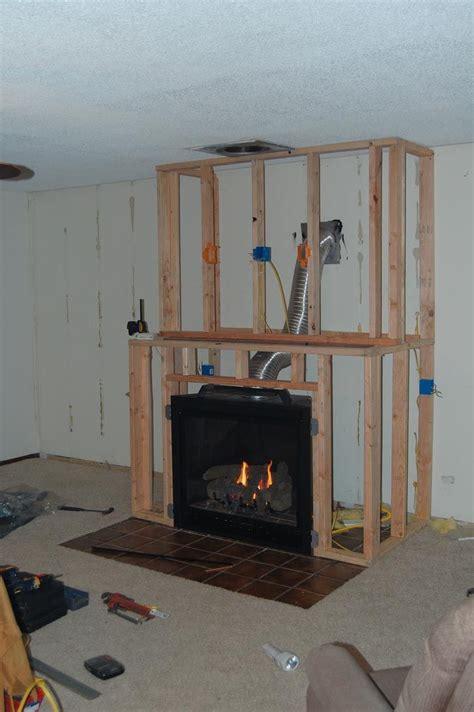 diy gas fireplace surround fireplace pinterest