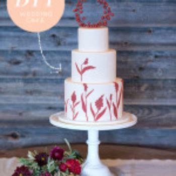 fruit and floral anniversary ideas design sponge