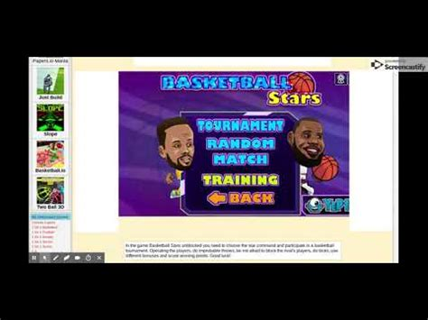 basketball stars basketball legends  unblocked games
